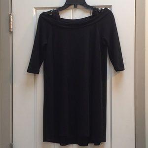 Lafayette 148 Silk Cold Shoulder Tunic